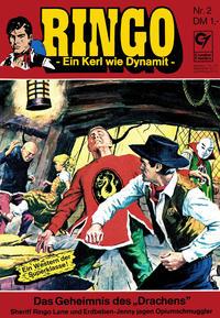 Cover Thumbnail for Ringo (Condor, 1972 series) #2