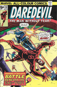 Cover Thumbnail for Daredevil (Marvel, 1964 series) #132 [British]