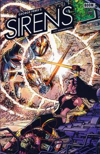 Cover Thumbnail for George Pérez's Sirens (Boom! Studios, 2014 series) #5 [Regular Cover]
