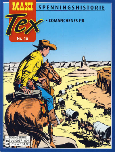 Cover for Maxi Tex (Hjemmet / Egmont, 2008 series) #46