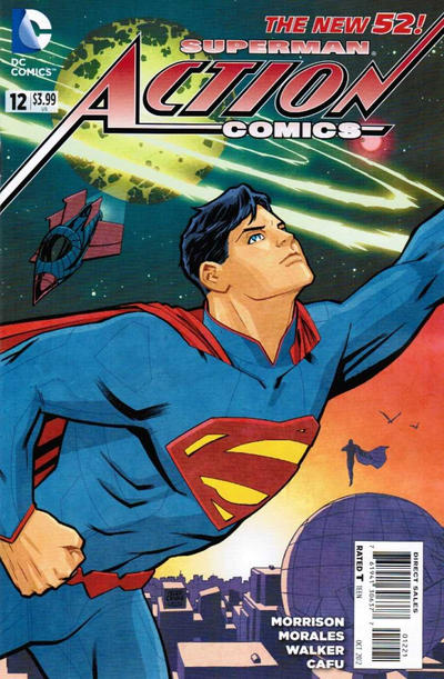 Cover for Action Comics (DC, 2011 series) #12 [Rags Morales Cover]