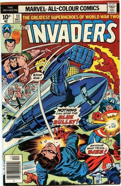 Cover for The Invaders (Marvel, 1975 series) #11 [Regular Edition]