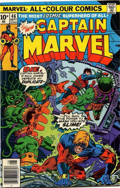 Cover for Captain Marvel (Marvel, 1968 series) #46 [Regular Edition]