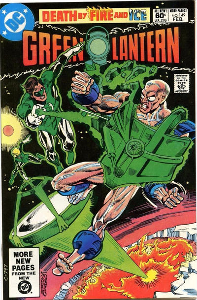 Cover for Green Lantern (DC, 1976 series) #149 [Direct Edition]