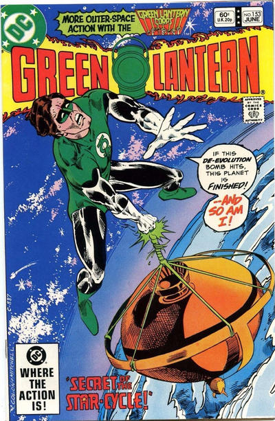 Cover for Green Lantern (DC, 1976 series) #153 [Direct Edition]