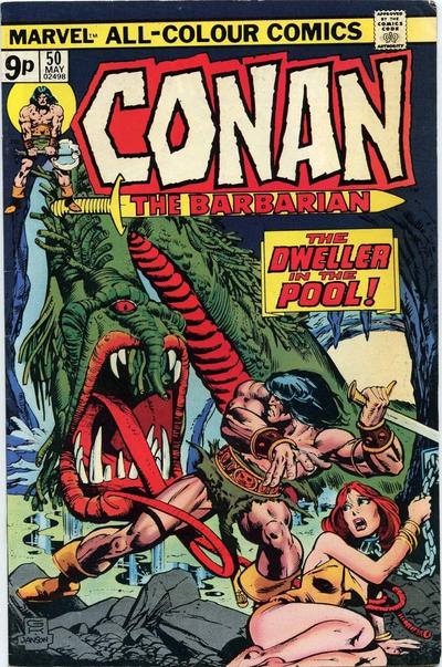 Cover for Conan the Barbarian (Marvel, 1970 series) #50 [Regular Edition]