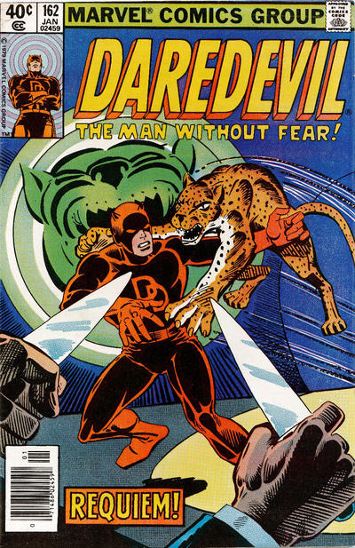 Cover for Daredevil (Marvel, 1964 series) #162 [Direct Edition]