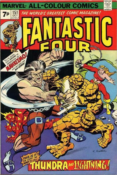 Cover for Fantastic Four (Marvel, 1961 series) #151 [Regular Edition]