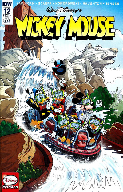 Cover for Mickey Mouse (IDW, 2015 series) #12 / 321 [Subscription Cover Variant]