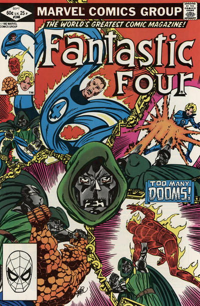 Cover for Fantastic Four (Marvel, 1961 series) #246 [Direct]