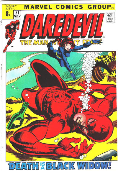 Cover for Daredevil (Marvel, 1964 series) #81 [Regular Edition]