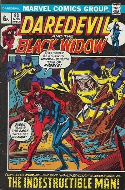 Cover for Daredevil (Marvel, 1964 series) #93 [Regular Edition]
