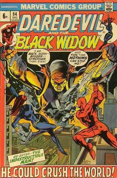 Cover for Daredevil (Marvel, 1964 series) #94 [Regular Edition]