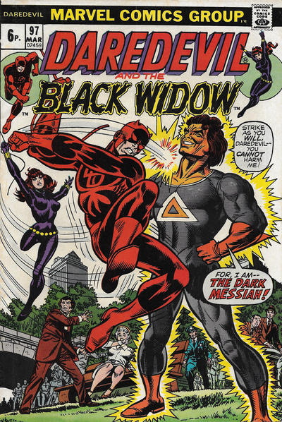 Cover for Daredevil (Marvel, 1964 series) #97 [British]