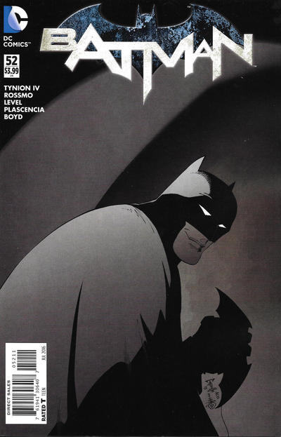 Cover for Batman (DC, 2011 series) #52 [The New 52! Cover]