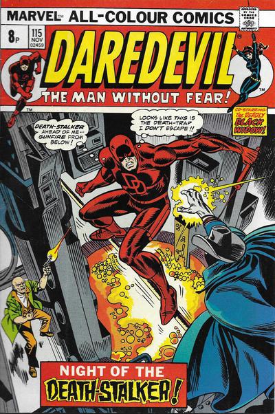 Cover for Daredevil (Marvel, 1964 series) #115 [Regular Edition]
