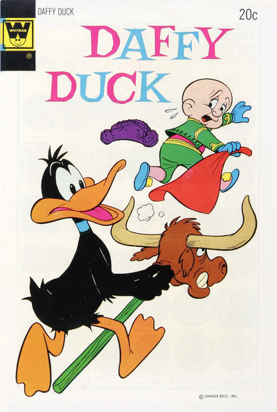 Cover for Daffy Duck (Western, 1962 series) #87 [Gold Key]