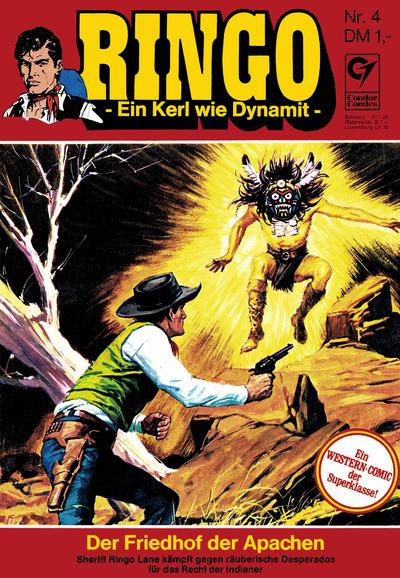 Cover for Ringo (Condor, 1972 series) #4