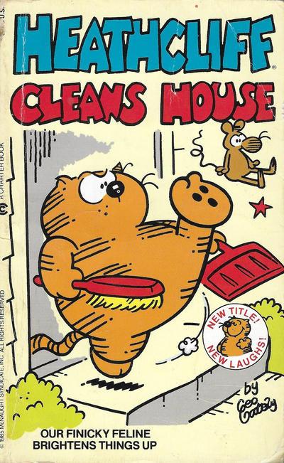 Cover for Heathcliff Cleans House (Berkley Books, 1985 series) #[nn]