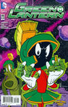 Cover for Green Lantern (DC, 2011 series) #46 [Jorge Corona & Warner Bros Animation DC Looney Tunes Variant]