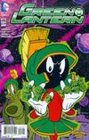 Cover Thumbnail for Green Lantern (2011 series) #46 [Jorge Corona & Warner Bros Animation DC Looney Tunes Variant]