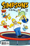 Cover for Simpsons Comics (Bongo, 1993 series) #229