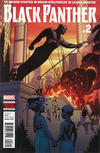 Cover for Black Panther (Marvel, 2016 series) #2
