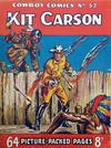 Cover for Cowboy Comics (Amalgamated Press, 1950 series) #52