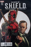 Cover for Agents of S.H.I.E.L.D. (Marvel, 2016 series) #1 [Incentive Mark Bagley Deadpool Variant]