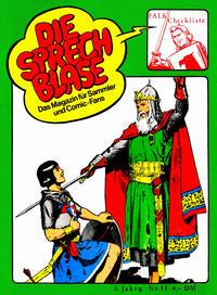 Cover Thumbnail for Die Sprechblase (Norbert Hethke Verlag, 1978 series) #11