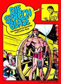 Cover Thumbnail for Die Sprechblase (Norbert Hethke Verlag, 1978 series) #27