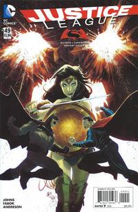 Cover Thumbnail for Justice League (DC, 2011 series) #49 [Batman v. Superman Cover Variant]