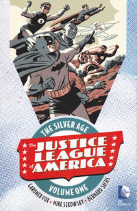 Cover Thumbnail for Justice League of America: The Silver Age (DC, 2016 series) #1