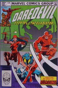 Cover Thumbnail for Daredevil (Marvel, 1964 series) #174 [British]