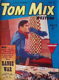 Cover Thumbnail for Tom Mix Western Comic (L. Miller & Son, 1951 series) #75