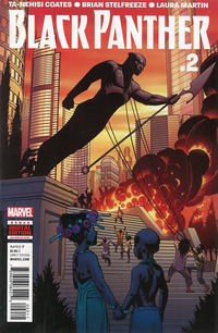 Cover Thumbnail for Black Panther (Marvel, 2016 series) #2
