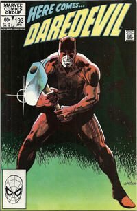 Cover Thumbnail for Daredevil (Marvel, 1964 series) #193 [Direct]