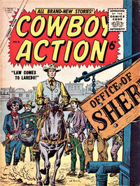 Cover Thumbnail for Cowboy Action (L. Miller & Son, 1956 series) #4