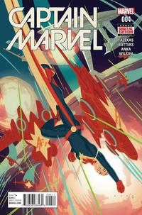 Cover Thumbnail for Captain Marvel (Marvel, 2016 series) #4