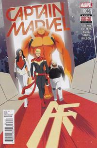 Cover Thumbnail for Captain Marvel (Marvel, 2016 series) #3