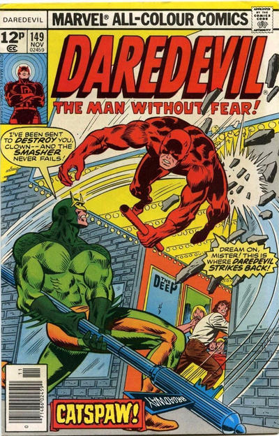 Cover for Daredevil (Marvel, 1964 series) #149 [Regular Edition]