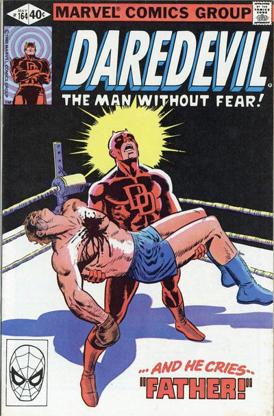 Cover for Daredevil (Marvel, 1964 series) #164 [Direct Edition]