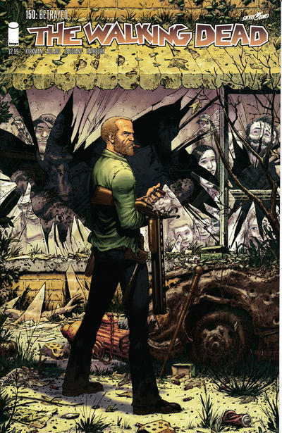 Cover for The Walking Dead (Image, 2003 series) #150 [Cover D]