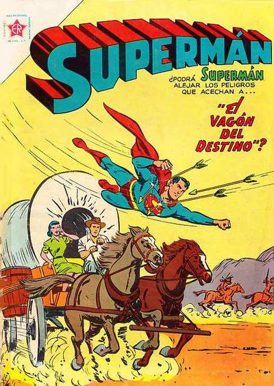 Cover for Supermán (Editorial Novaro, 1952 series) #49