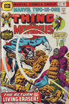 Cover for Marvel Two-in-One (Marvel, 1974 series) #15 [30¢]