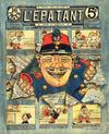 Cover for L'Épatant (SPE [Société Parisienne d'Edition], 1908 series) #1