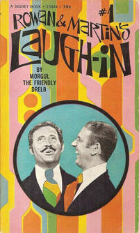 Cover Thumbnail for Laugh-In (New American Library, 1969 series) #1 (T3844) - Rowan & Martin's Laugh-In