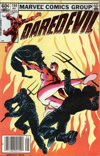 Cover Thumbnail for Daredevil (Marvel, 1964 series) #194 [Newsstand]