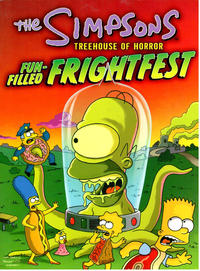Cover Thumbnail for The Simpsons Treehouse of Horror Fun-Filled Frightfest (HarperCollins, 2003 series)