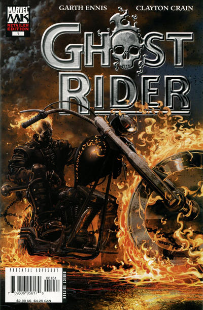 Cover for Ghost Rider (Marvel, 2005 series) #1